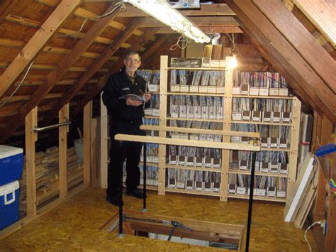 Loft In Garage by Our D I Y Remodel Garage Loft Has Been Conquered