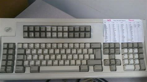 Sting Out Bland Keyboards by Model M 122 Key Keyboard Continued G Walters