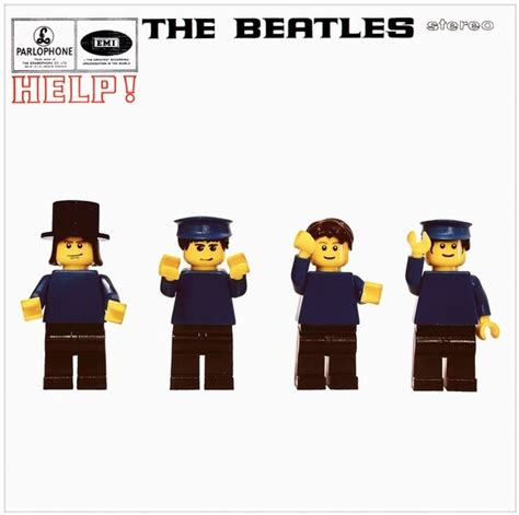 The Beatles Lego Minifigure 106 best minifigures album covers images on album covers ideas and lego