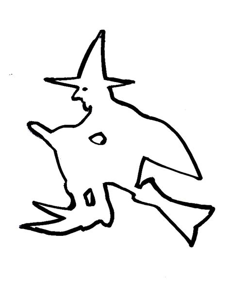 witch template witch template lol cliparts co