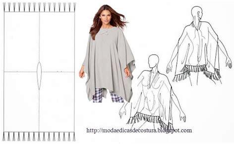 molde poncho de carnavalito de fiselina moda e dicas de costura poncho f 193 cil de fazer ropa