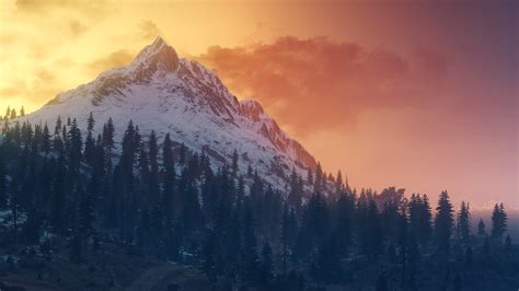 the witcher 3 wild hunt landscape the witcher 3 wild hunt landscape mountains wallpapers