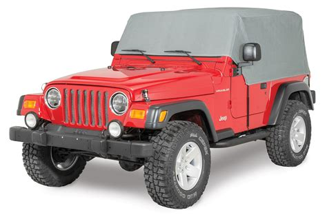 Jeep Wrangler Cab Cover Rage Products 1261 4 Layer Cab Cover For 92 06 Jeep