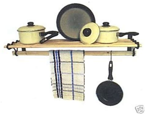 Pan Shelf Rack Pot Pan Rack Shelf 1 2m Aga Kit Black Cast Iron