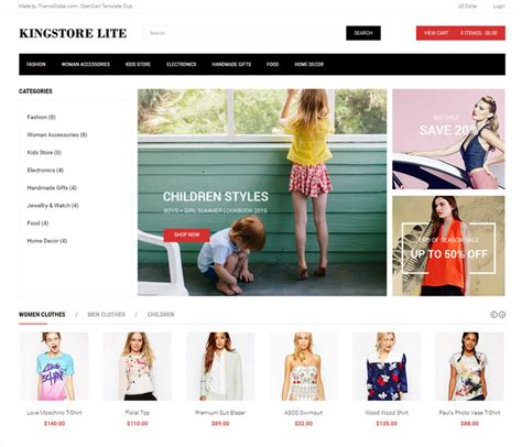 25 best responsive opencart ecommerce themes
