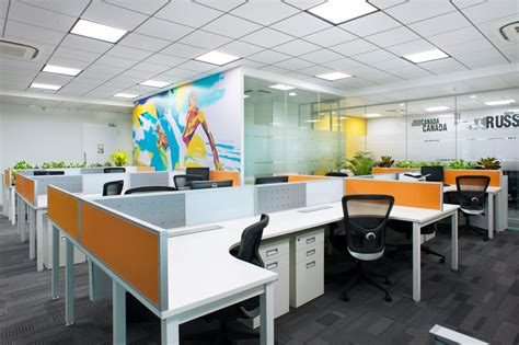 design my office workspace small modern office design of iifl offices pune zyeta