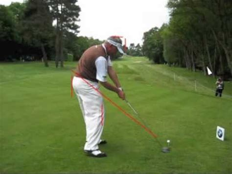 Darren Clarke Golf Swing Analysis Youtube