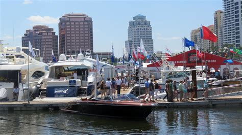 palm beach boat show facebook in water demos at palm beach international boat show