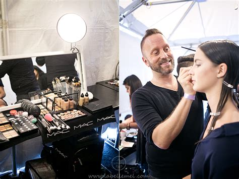 Backstage Mac nyfw s s14 backstage with mac cosmetics and giveaway