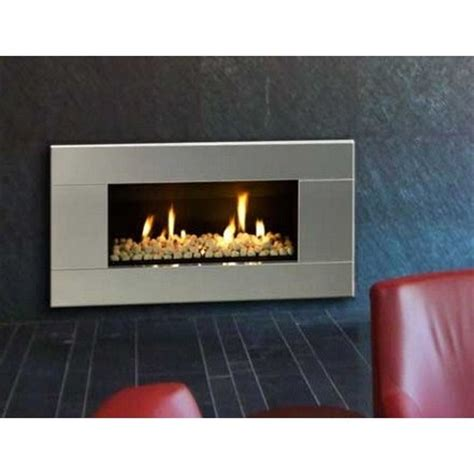 Stainless Fireplace by Buy St900 Gas Fireplace Stainless Steel San