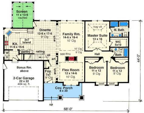 floor plan 3 bedroom bungalow house attractive 3 bedroom bungalow 14564rk architectural