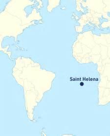 st helena on world map helena map