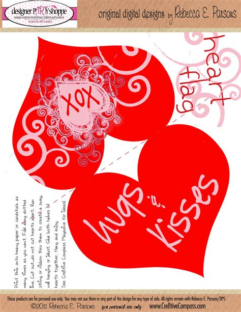 printable valentines decorations printable multi purpose decor favecrafts
