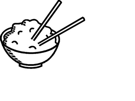 Rice Outline by Pasta Clipart Cliparts Co