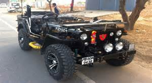 modified open jeeps of india