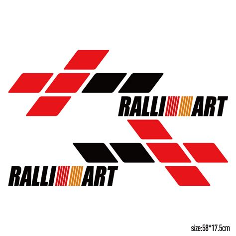 mitsubishi ralliart stickers custom mitsubishi galant reviews online shopping custom