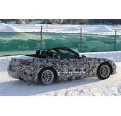 BMW Z5 Feeling Naughty Gets Photographed With Top Down