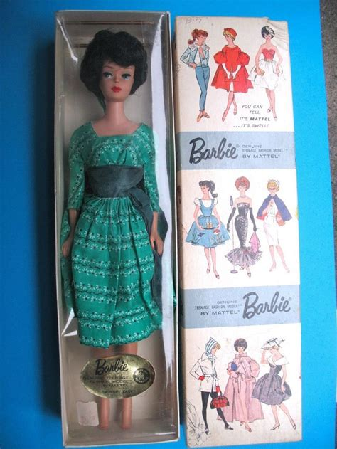 search results for who inspired the bubble cut hairstyle vtg barbie dressed box brunette bubble cut in swingin