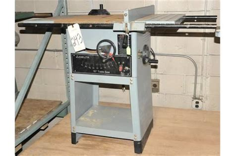 delta catalog 34 670 10 quot table saw s n k9203 with rip