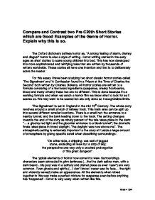 Two Story Compare Contrast Essay by Best Compare And Contrast Essay Exles Comparing And Contrasting The Writing Center