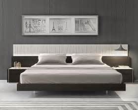 Platform Beds Modern Design Lacquered Fashionable Wood Platform And Headboard Bed With