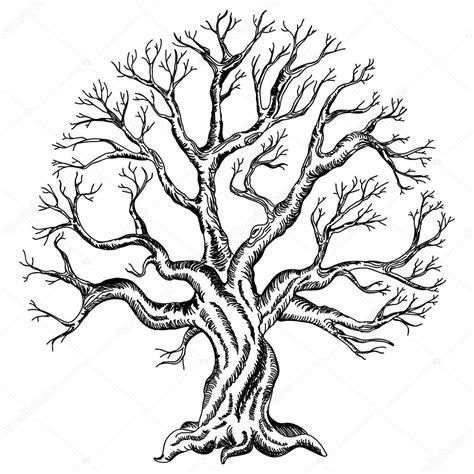 Y Tree Drawing by рисунок дерево векторный рисунок дерева векторное
