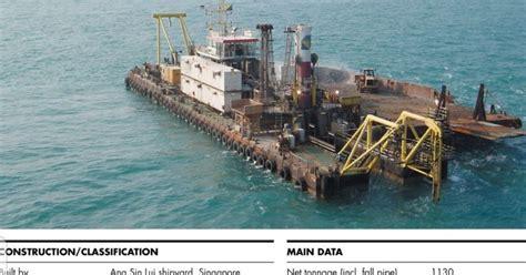 tugboat batam scrap rongsok jual barge batam