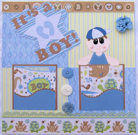 scrapbook layout baby boy baby boy it s a boy scrapbook layout paper piecing