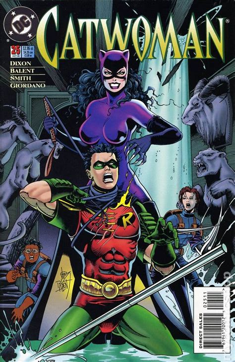catwoman 1993 2nd series comic books