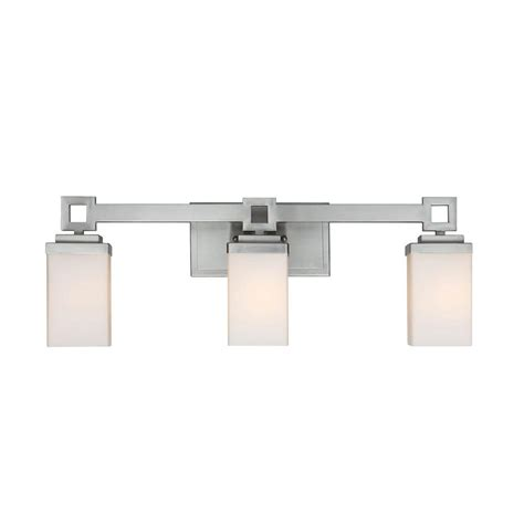 vanity lighting bathroom lighting the home depot bathroom cabinets with lights jessa collection 3 light pewter bath vanity light ba3mppw the home depot