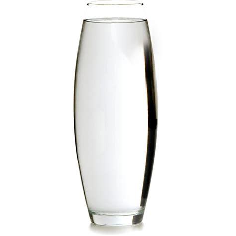 vaso trasparente vaso oval transparente 38cm