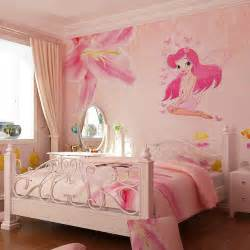 Wall Stickers For Girls Room Beautiful Fairy Princess Butterly Decals Art Mural Wall