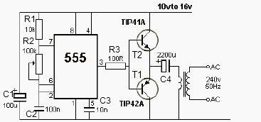 circuit diagram using 555 timer repair wiring scheme