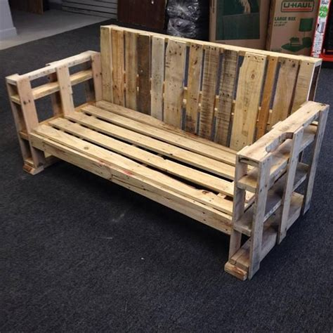 wooden bench sofa the 25 best ideas about pallet benches on pinterest