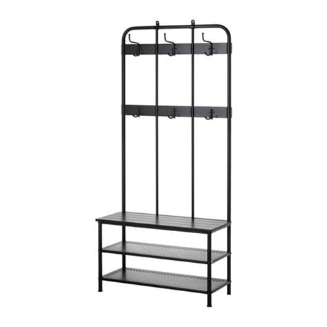 coat stand and shoe storage pinnig coat rack with shoe storage bench ikea
