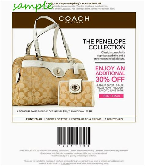 coach outlet printable coupon january 2015 coach coupons december 2014