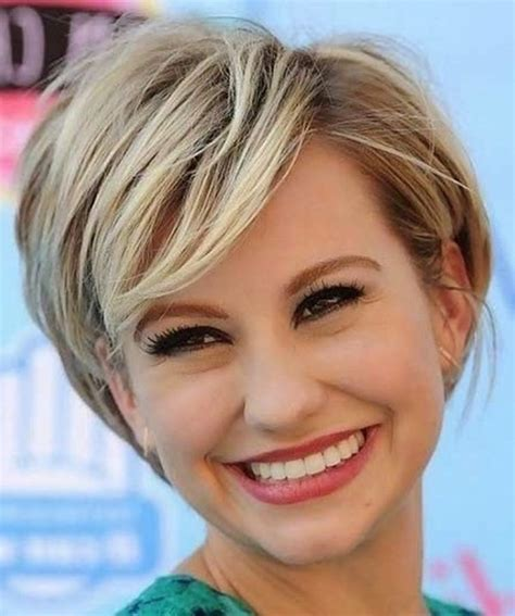 short haircut for rectangle faced women ladies short hairstyle pics with regard to house female