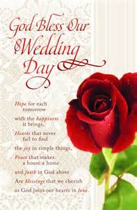 wedding programs with red rose on lace background