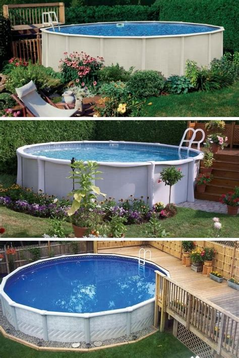 backyard above ground pools backyard above ground pool ideas outdoor goods