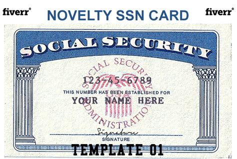 Real Social Security Card Template by Fathers Day Printable Myideasbedroom