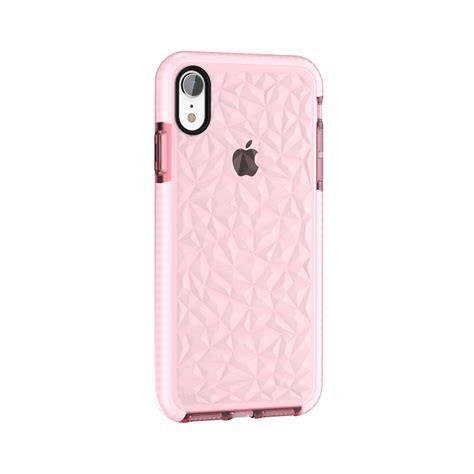 texture tpu for iphone xr pink alexnld