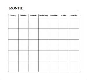 Free Blank Calendar Template by Blank Calendar Template 15 Free Docements In Pdf