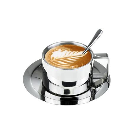 best espresso cups coffee cups and cappuccino cups 2018 stainless steel 3p double wall tea or coffee cup easy