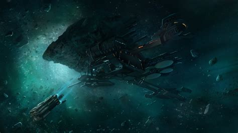 wallpaper abyss sci fi spaceship full hd wallpaper and background 1920x1080