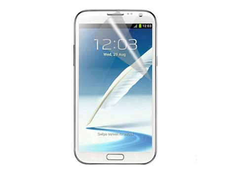 Antiglare Samsung Galaxy Note 2 N7100 Anti Minyakantigoresgores Sp matte anti fingerprint screenprotector samsung galaxy note