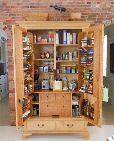 pantry storage cabinets  kitchen   standing