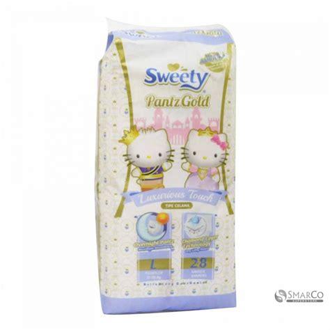Sweety Pantz Gold L detil produk sweety royal gold l 28 s 1015020030144