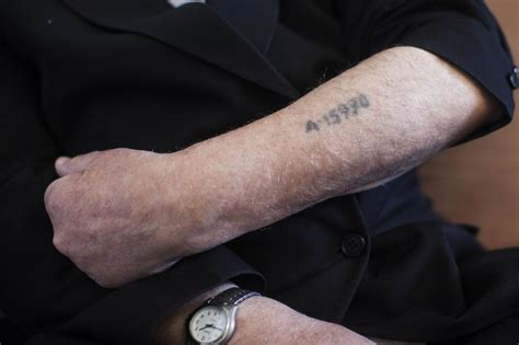 holocaust tattoo drive to recruit volunteers for holocaust survivors