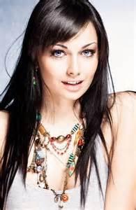 светлые прямые волосы с чёлкой фото