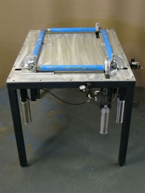 stretching table newman roller frame stretching table
